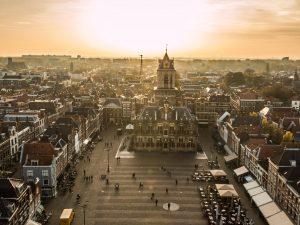 Cidade Delft Holanda
