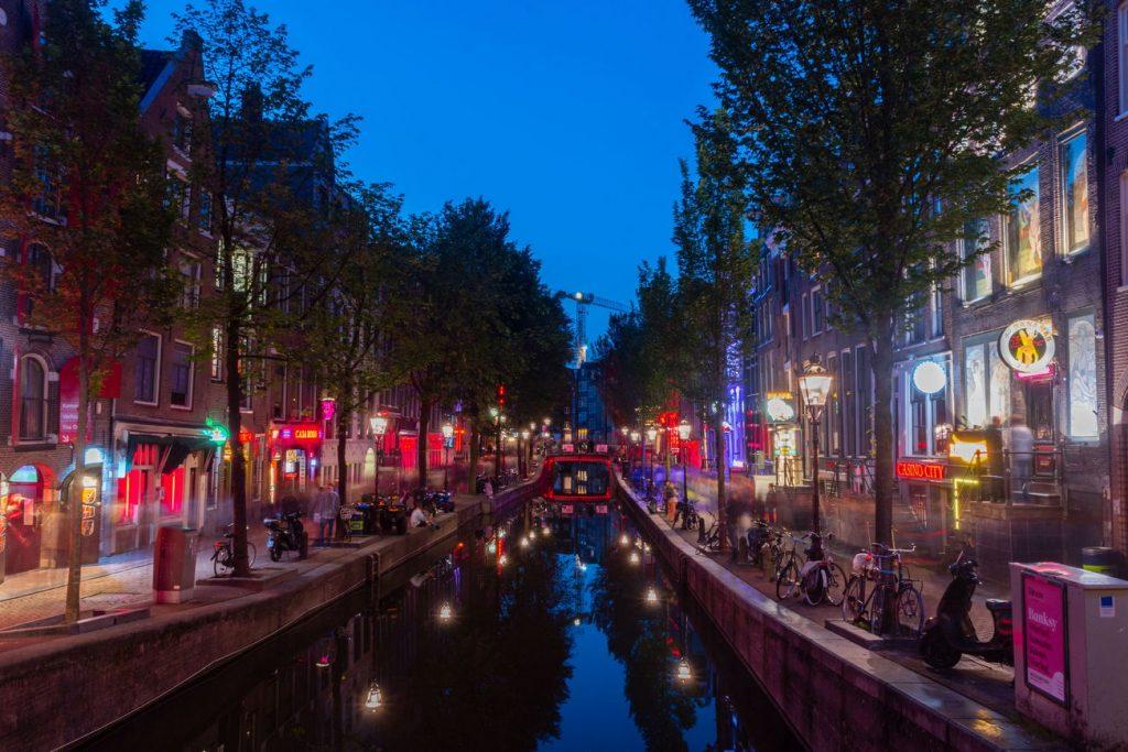 De Wallen Amesterdão