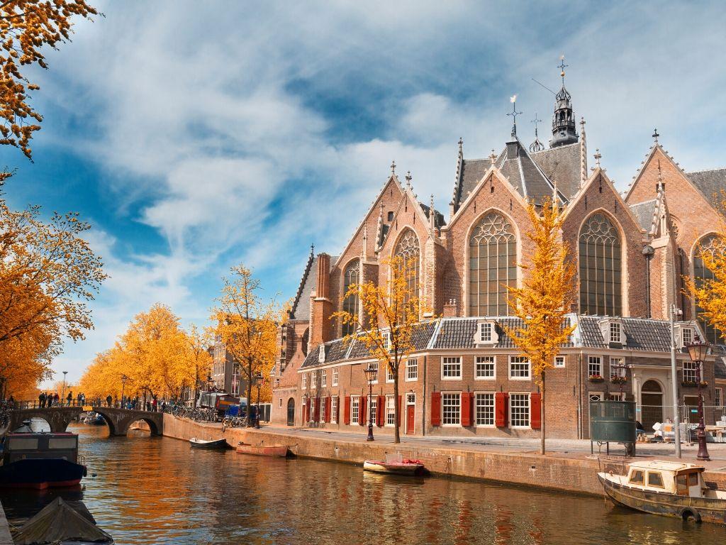Igreja De Oude Kerk Amsterdam