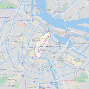 Mapa de De Wallen