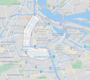 Mapa de Grachtengordel