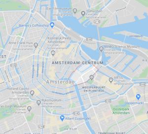 Mapa de Jodenbuurt