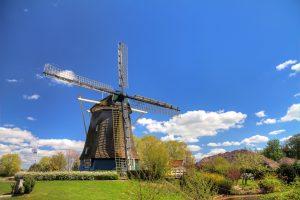 Moinho De Riekermolen em Amesterdão