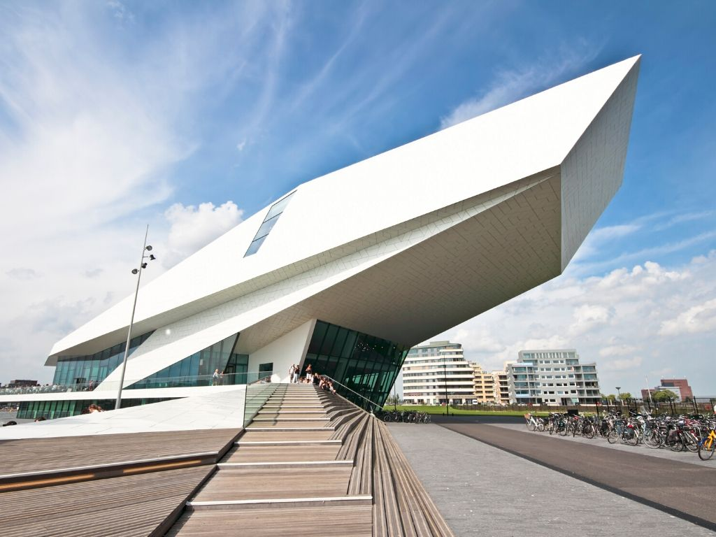 Museu do Cinema EYE Filmmuseum Amsterdam