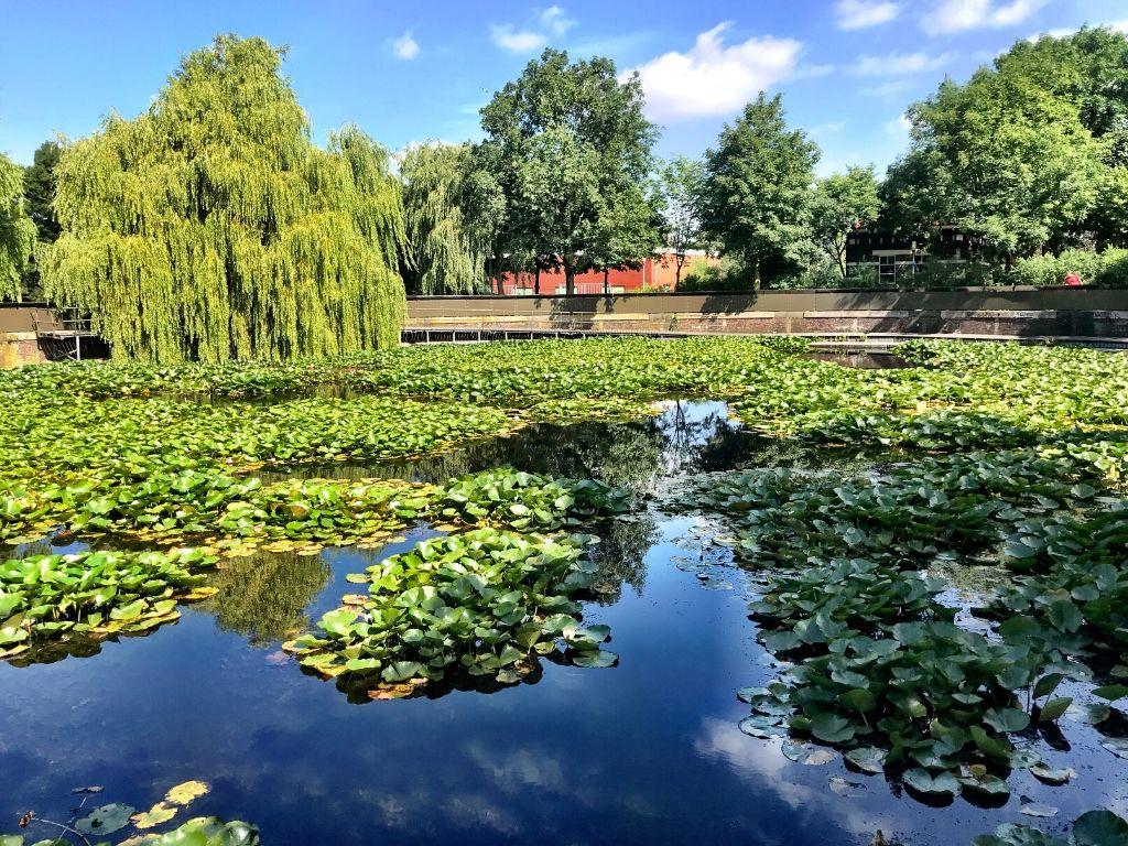 O Westerpark em Amesterdão
