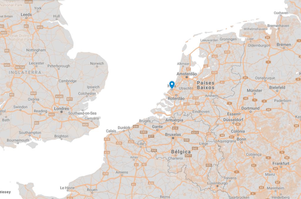 Onde fica Haia na Holanda