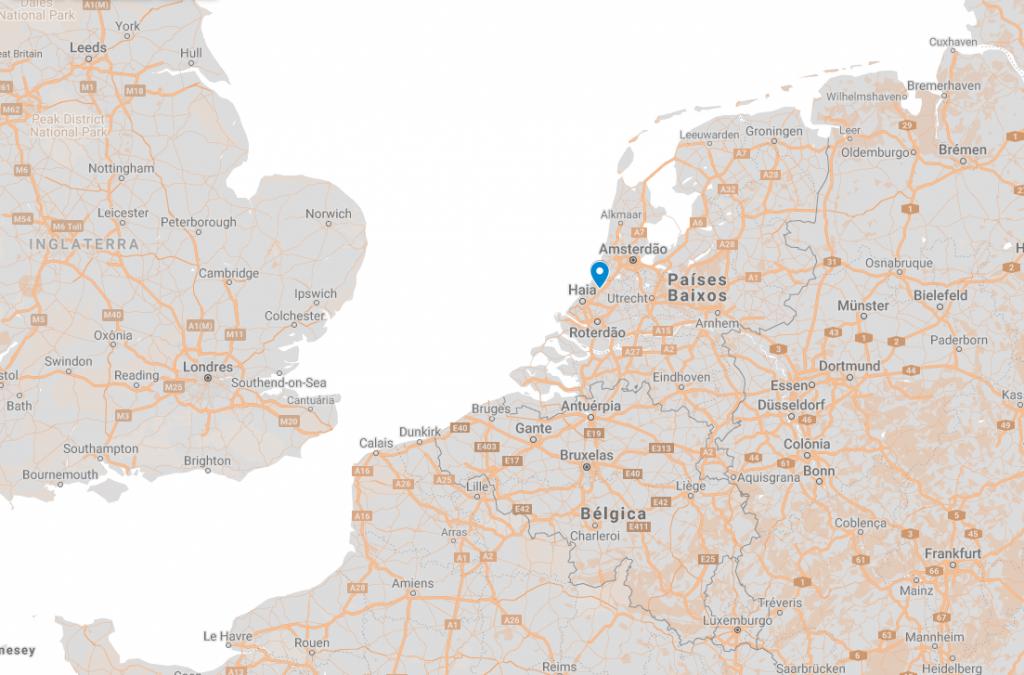 Onde fica Leiden na Holanda