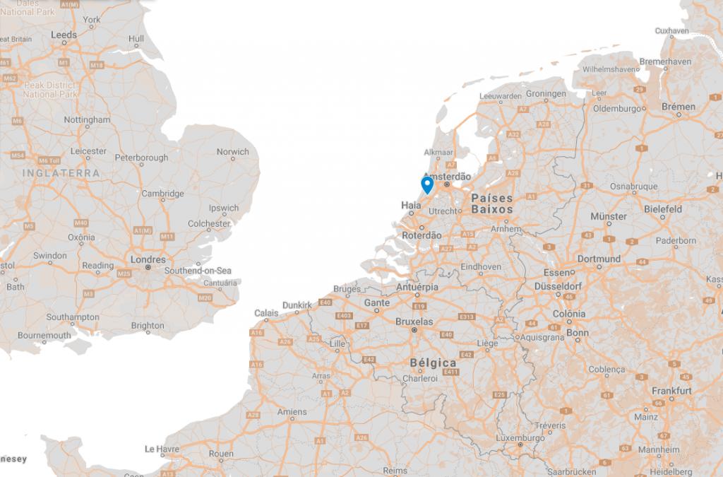 Onde fica Lisse na Holanda