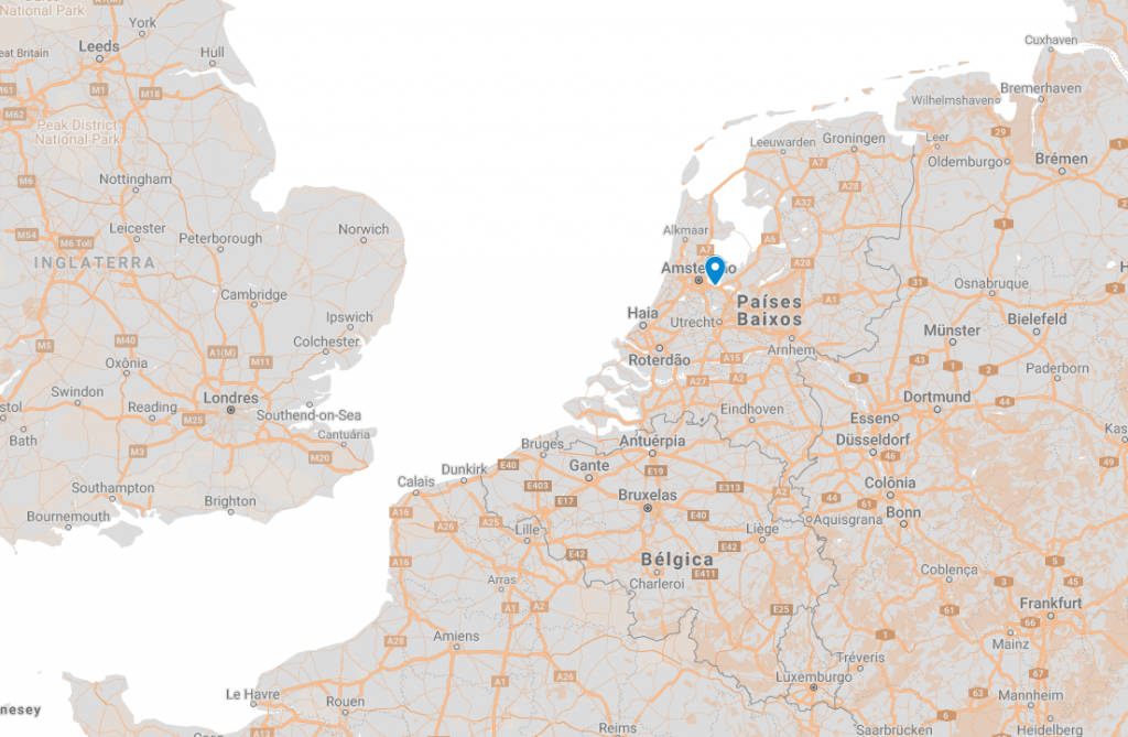 Onde fica Muiden na Holanda