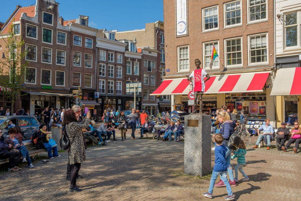 Praça Spui Amsterdam