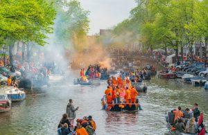 Os feriados oficiais de Amesterdão