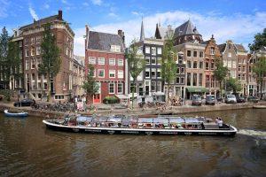 zona histórica de Amesterdão